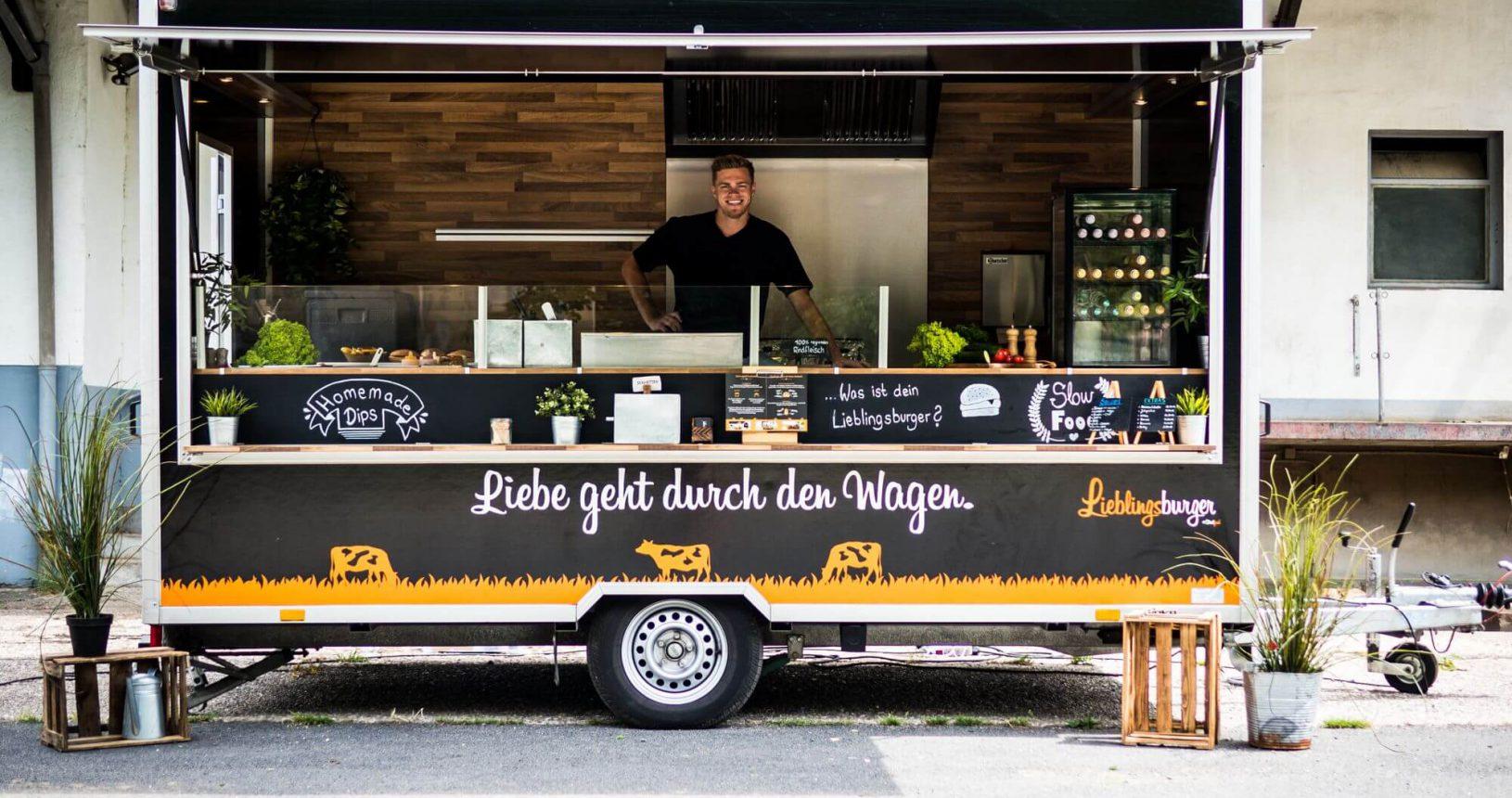 Lieblingsburger Burger Pommes Foodtruck Catering Streetfood B2B Bonn Köln